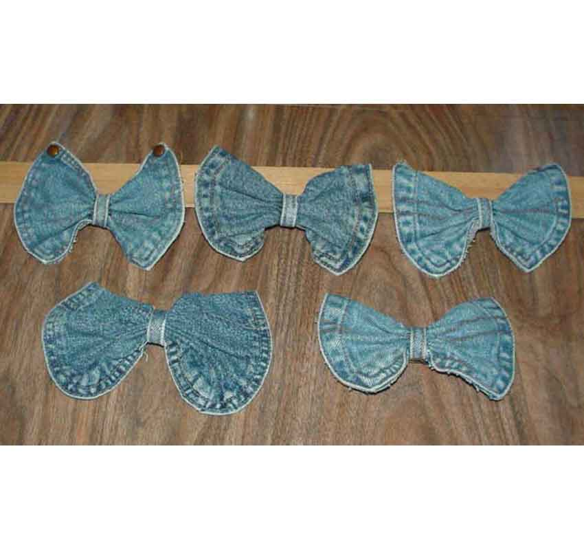 Asst Pre-made Bow Barrettes